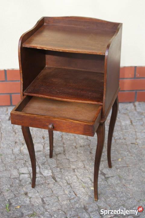 Drewniana komódka szafeczka stolik nocny styl 30cm mazowieckie