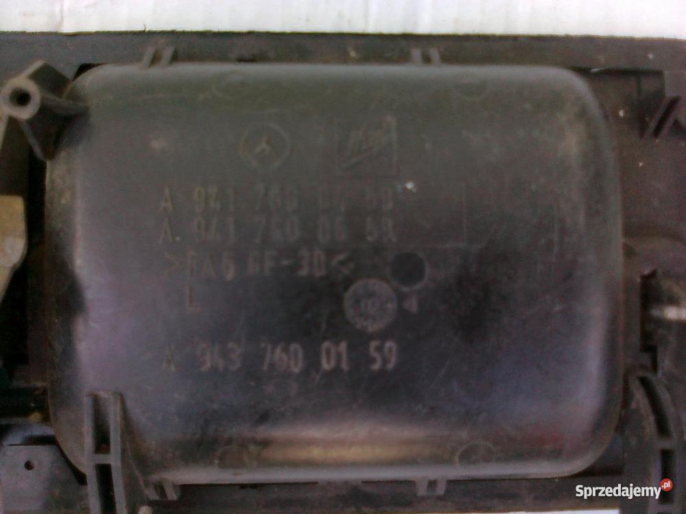 Mercedes Actros 941943 Klamka strona lewa
