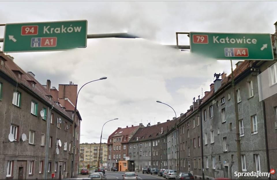 BYTOM - CENTRUM - DUŻA DZIAŁKA POD INWRSTYCJĘ k. Katowice C