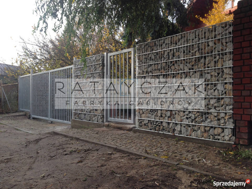 Rewelacyjny Ogrodzenie gabionowe gabiony gabion PRODUCENT Mława - Sprzedajemy.pl RI99