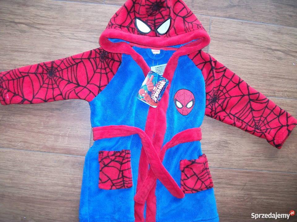 1887ffb389945d Szlafrok Spiderman DISNEY orginal NOWY 2-3latka Maków Podhalański ...