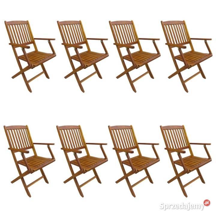 vidaXL Składane krzesła ogrodowe 276358