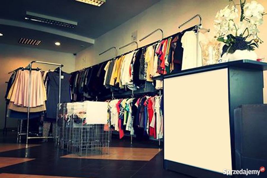Nietypowy Okaz Sprzedam wyposażenie sklepu odzieżowego Gdańsk - Sprzedajemy.pl EP33