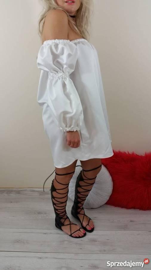 70e096fbe3a Biala sukienka boho elegancka nowość Spódnice i sukienki Gdynia