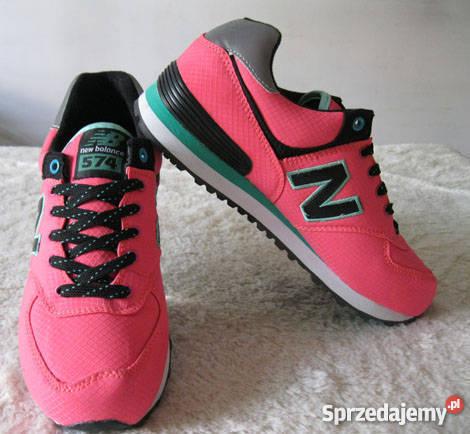 new balance nb 574 szaro różowe damskie