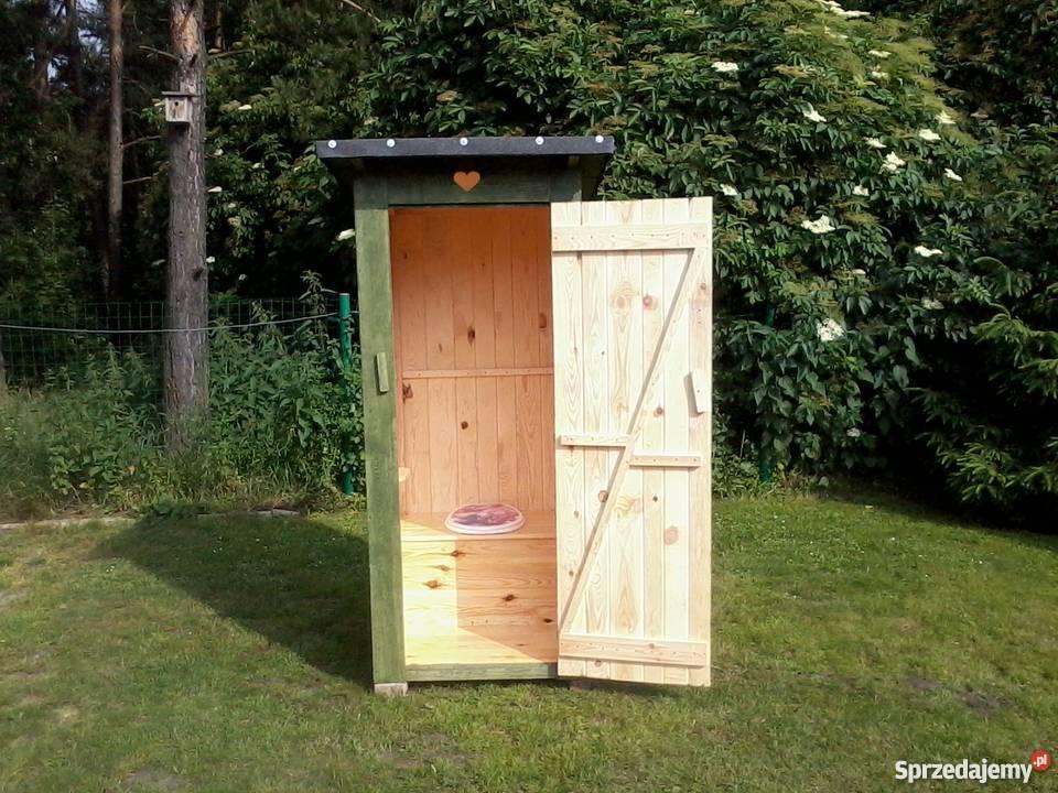 W Mega Wc toaleta szalet wychodek latryna kibel działkę budowę Drużbice JV36