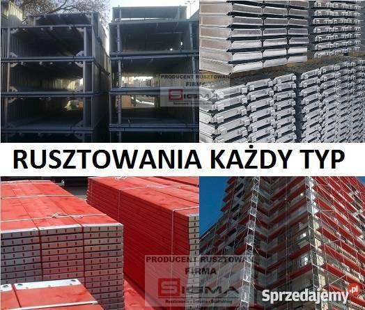 RUSZTOWANIA prosto producenta KAŻDY TYP NOWE 37 Koszalin