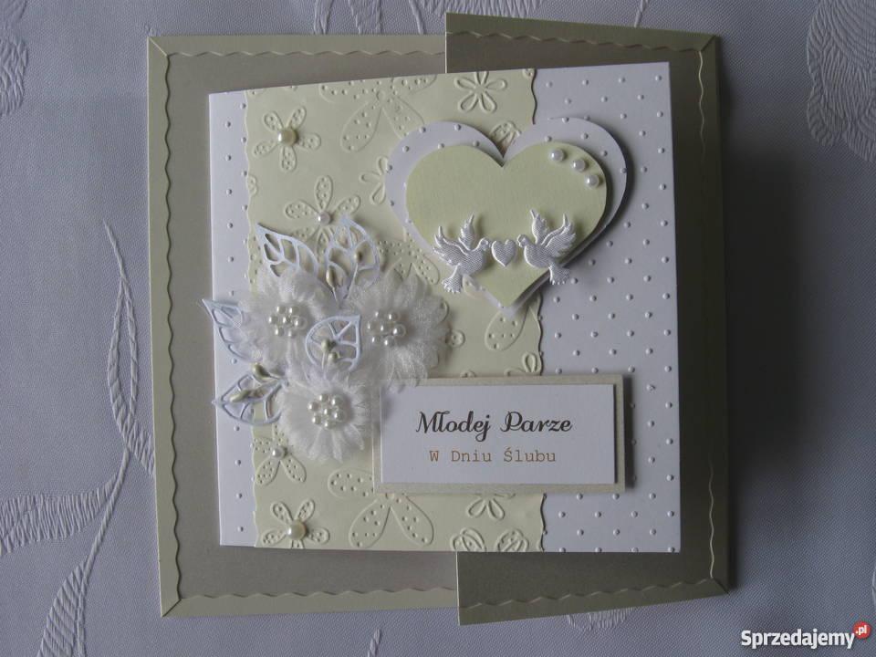 Karta Ślubna w pudełku Zbójno