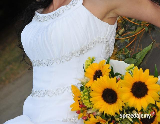Suknia ślubna w greckim stylu Kraków
