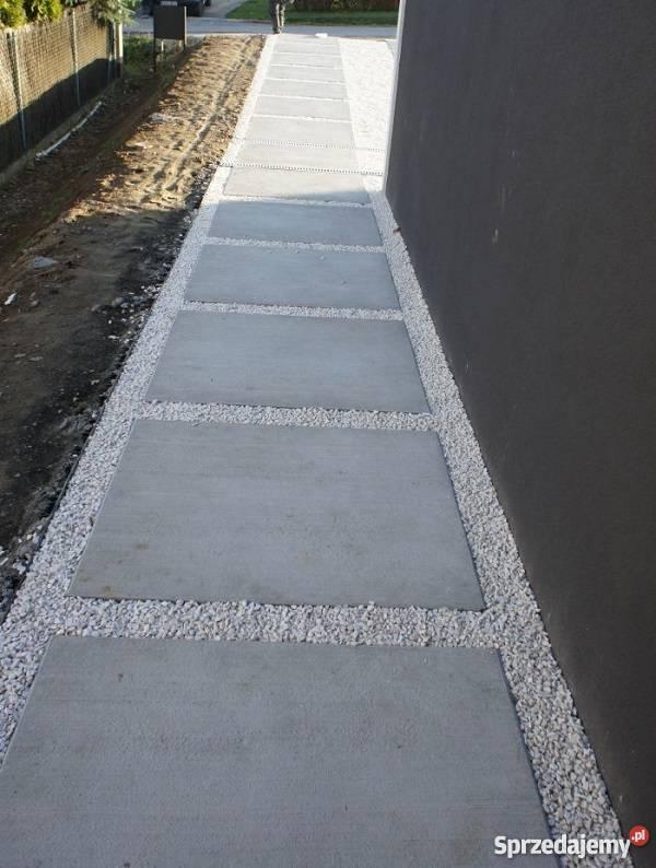 Ogrodowe Płyty Betonowe Na Taras Chodniki ścieżki