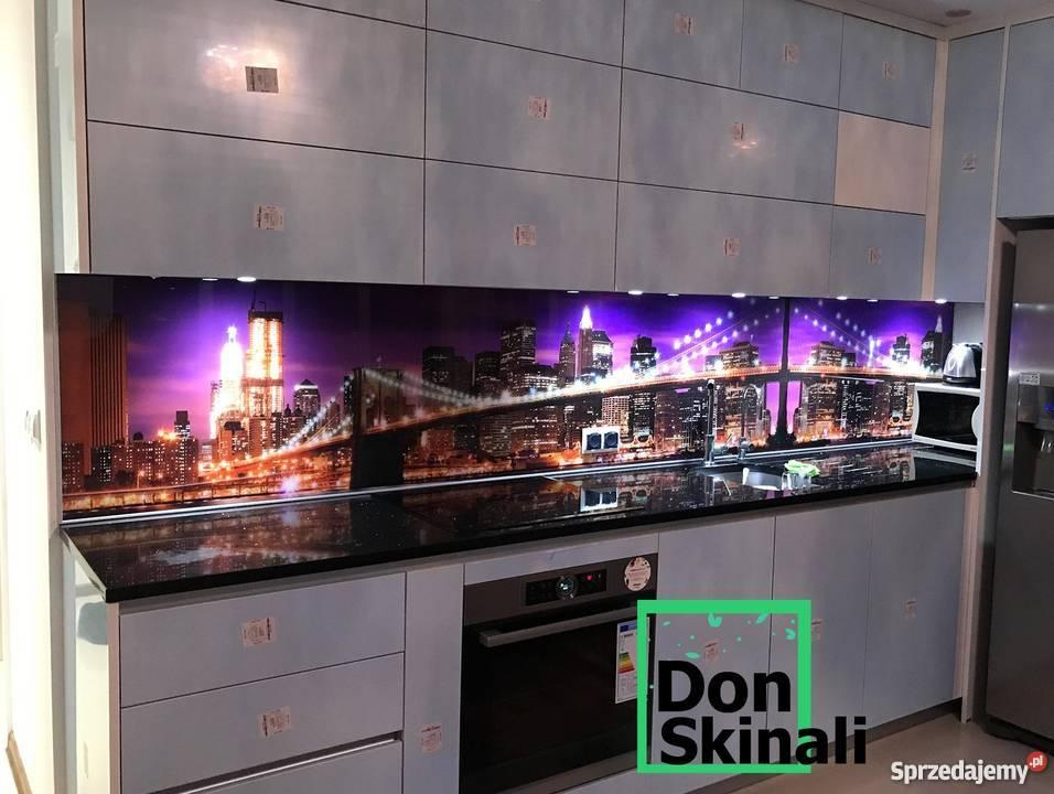 Wspaniały szklane panele do kuchni, lakierowane, grafika UV Warszawa ZO63