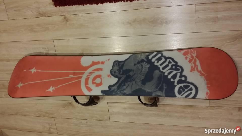 Zestaw Deska Snowdoardowa 130 wiązaniabuty 38 Snowboard lubelskie Kraśnik