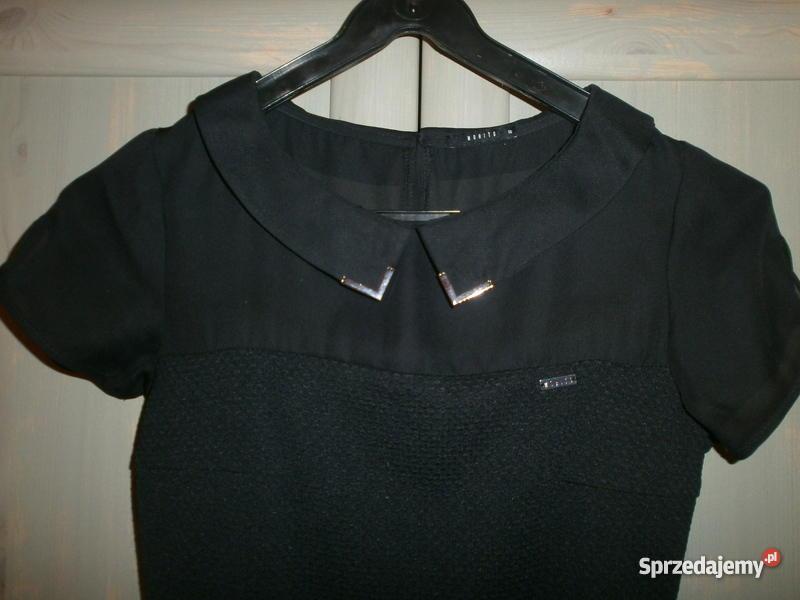 Sukienka mala czarna Zara r S 36 spódnica galowa