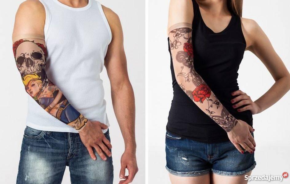 Rękaw Z Tatuażem Tattoo Kostium