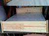Łóżko 140 x 200 sosnowe - nowe + materac