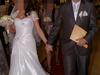 Piękna suknia ślubna + kamizelka i krawat dla pana młodego
