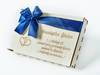 Pamiątka Ślubu, pudełko na pieniądze NP11