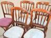 Krzesła drewno/ tapicerka gięte a'la Thonet do renowacji