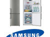 Sprzedam lodówko-zamrażarkę SAMSUNG, srebrna, technologia No-Frost