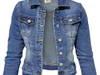 PLUS SIZE Kurtka Damska Jeans Katana Jeansowa #139 L-3XL