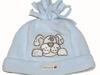 NEXT śliczna błękitna czapeczka z pieskiem 3 m-ce
