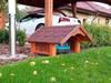 Garaż / domek dla kosiarki / kosiarka robot