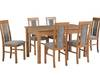 Stół 80/160/200 + 6 krzeseł -Tani komplet !