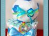 Tort z pampersów -dla piłkarza, chrzest, urodziny, prezent - miniaturka