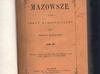 Mazowsze -Kolberg - Tom 3 -1887rok - Unikat - miniaturka