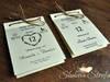 Zaproszenie ślubne, zaproszenie kartka z kalendarza
