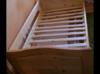 drewniane łóżko dla dziecka z szuflada - miniaturka