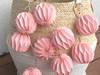 Lampki LED 10szt origami Girlanda świetlna różowa