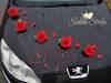 Dekoracja ślubna, dekoracja na samochód, dekoracja samochodu