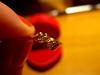 Pierścionek złoty 585 proba rozmiar 7 - 2
