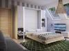 Łóżko chowane   Zamykane w szafie Półkotapczan HIT!!!