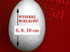 Jajka styropianowe
