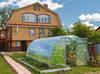 Szklarnia ogrodowa, przydomowa z poliwęglanem Dacznaja-Optim