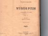 Wybór pism - Kaczkowski - 1900 rok