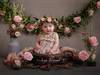 Drewniana misa rekwizyt do noworodkowych sesji zdjęciowych