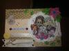Kartki ręcznie robione scrapbooking, quilling chrzest, świeta, urodziny zaproszenia - 7