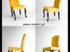 Piękne Pikowane Krzesło w stylu glmour