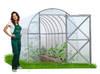Szklarnia ogrodowa, przydomowa z poliwęglanem Perchina-M