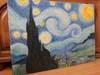 Obraz olejny Van Gogh Gwiaździsta noc / sztuka / malarstwo