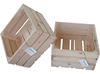 Drewniana Skrzynka Dekoracyjna, surowe drewno 303 - miniaturka