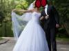 Suknia ślubna biała 36/38 z dodatkami w cenie - miniaturka