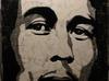 Bob Marley - mozaika z kamienia naturalnego ,recznie robiona marmur granit ..