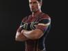 Koszulka Termoaktywna Siłownia Rashguard Spider-man złoty M