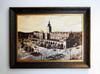 Obraz olejny Krakow w pieknej oprawie - miniaturka
