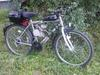 """Rower 26"""" z Silnikiem spalinowym 80cc 2-suwowy - miniaturka"""