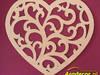 Duże ażurowe serce 80 cm! sklejka dekoracje ślubne, weselne